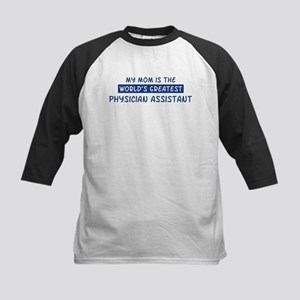 Physician Assistant Mom Kids Baseball Jersey