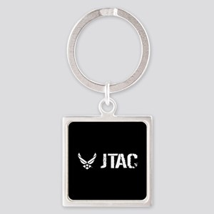 USAF: JTAC Square Keychain
