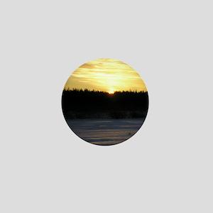 Winter Sunrise 0165 Mini Button