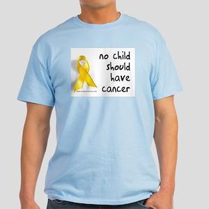 No child cancer Light T-Shirt