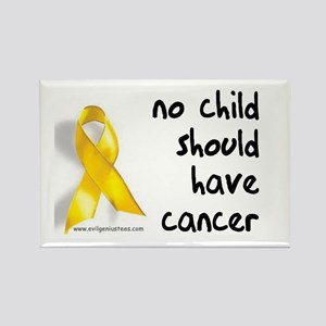 No child cancer Rectangle Magnet