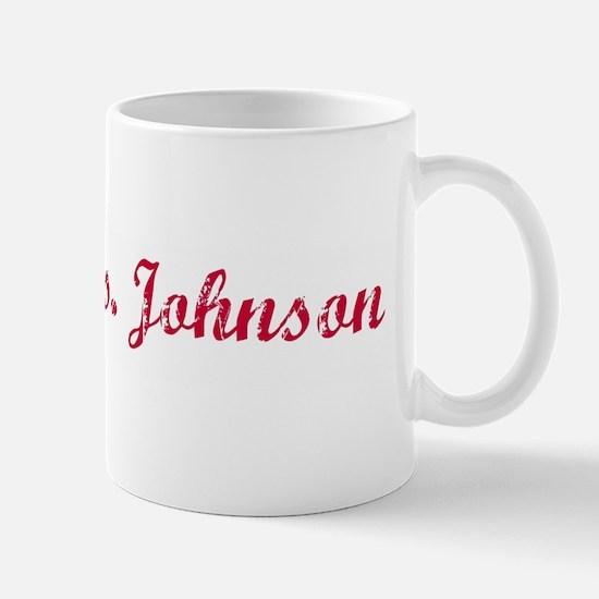 Future Mrs. Johnson Mug