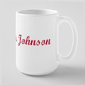 Future Mrs. Johnson Large Mug