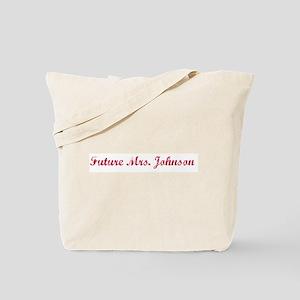 Future Mrs. Johnson Tote Bag