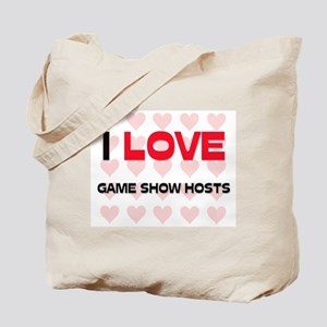 I LOVE GAME SHOW HOSTS Tote Bag