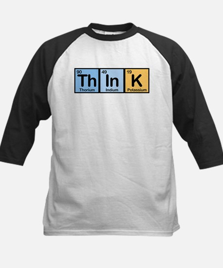 Think Made of Elements Kids Baseball Jersey