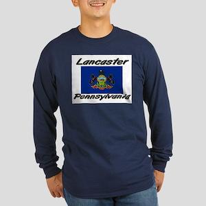 Lancaster Pennsylvania Long Sleeve Dark T-Shirt