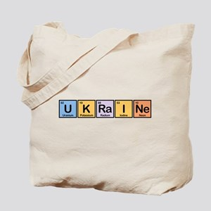 Ukraine Made of Elements Tote Bag