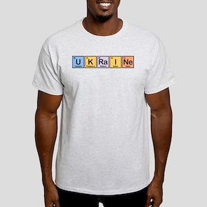 Ukraine Made of Elements Light T-Shirt