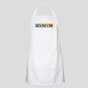 Ukraine Made of Elements BBQ Apron