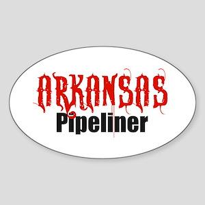 Arkansas Pipeliner 2 Oval Sticker