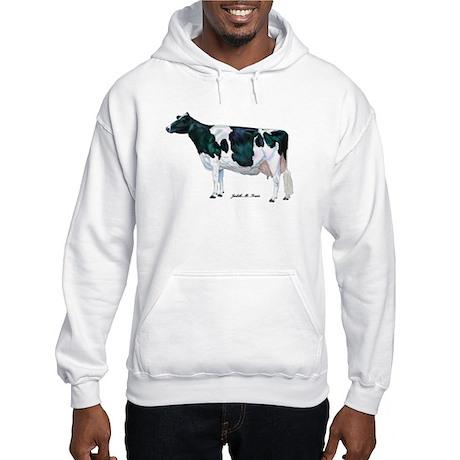 Holstein Cow Hooded Sweatshirt