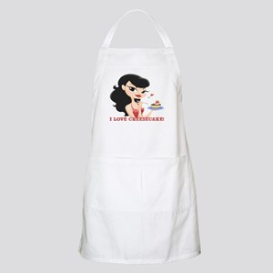 I Love Cheesecake! BBQ Apron