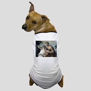 Paris and Oenone Dog T-Shirt