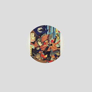 Tomoe Gozen: Female Samurai Mini Button