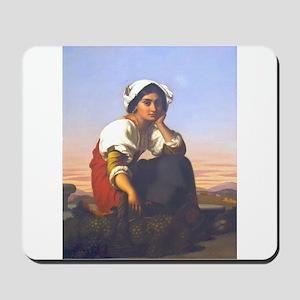 Roman Peasant Girl Mousepad