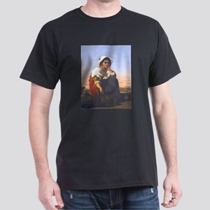 Roman Peasant Girl Dark T-Shirt