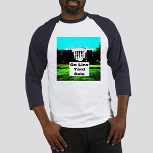 White House On Line Yard Sale Baseball Jersey