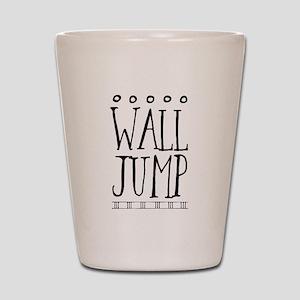 Wall Jump Shot Glass