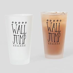 Wall Jump Drinking Glass