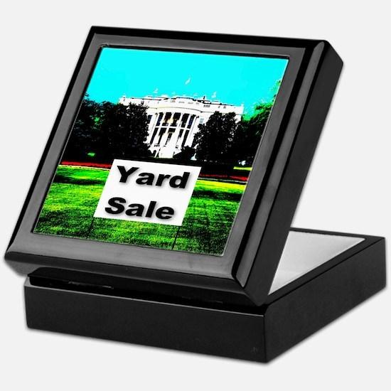 White House Yard Sale Keepsake Box