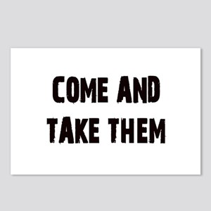 Come and Take Them Postcards (Package of 8)
