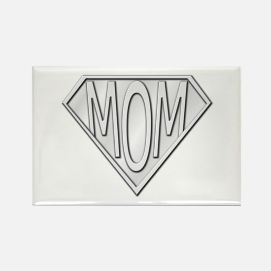 Super Mom Rectangle Magnet (100 pack)