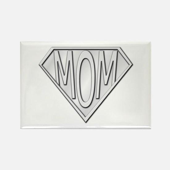 Super Mom Rectangle Magnet