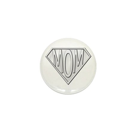 Super Mom Mini Button (10 pack)
