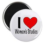 """2.25"""" Magnet (10 pack) I heart Women's Studie"""