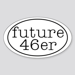46er Euro-style - Oval Sticker