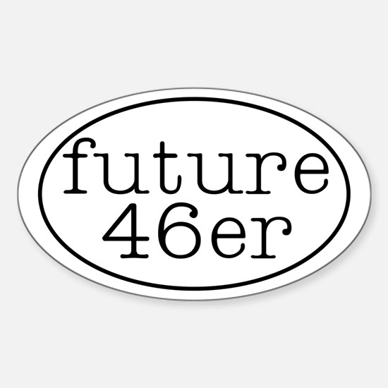 46er Euro-style - Oval Decal