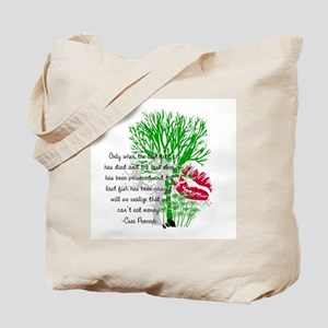 Nature Quote Tote Bag