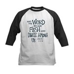And the Word became Flesh Baseball Jersey