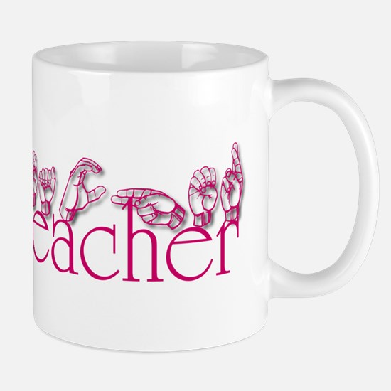 Teacher-pnk Mug