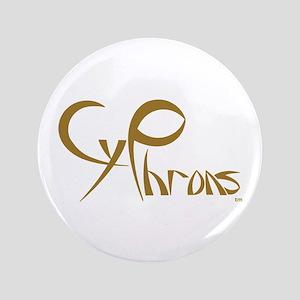 """CyPhrons 3.5"""" Button"""