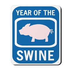 Year of the Swine Mousepad
