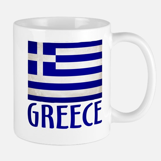 Cute Greece flag Mug