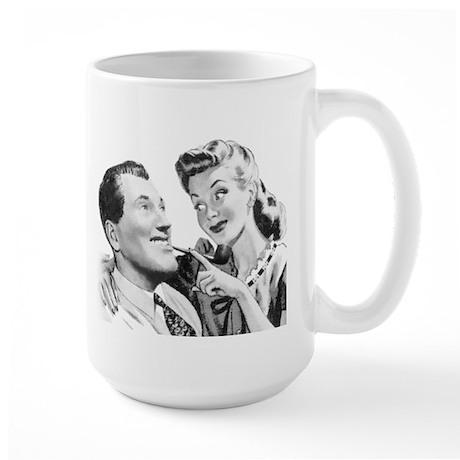 "Connie & ""Bob"" Large Mug"