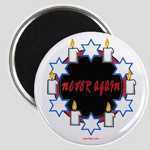 Never Again Holocaust Magnet