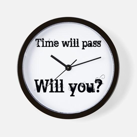 Passing Clock Wall Clock