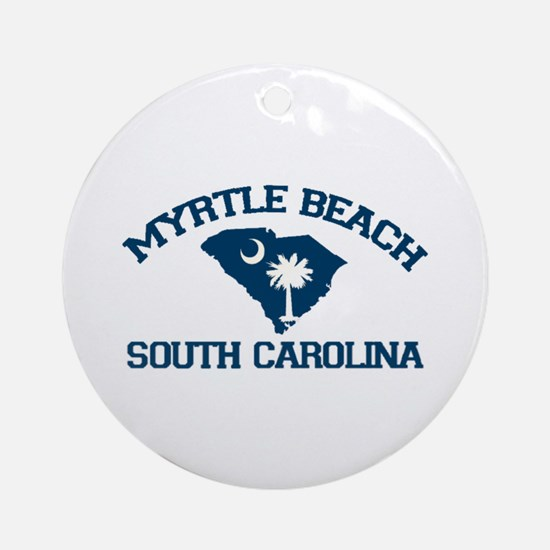 Myrtle Beach SC Ornament (Round)