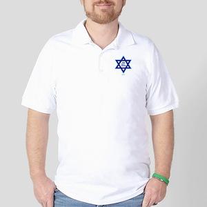 Glatt Kosher Funny Jewish Golf Shirt