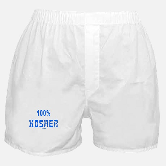 100% Kosher Boxer Shorts