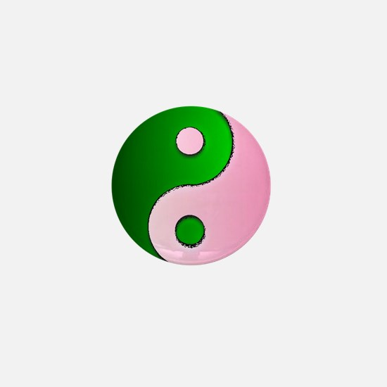 The Ying and Yang of Being Wicked Mini Button