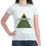 Pyramid Scheme: Jr. Ringer T-Shirt