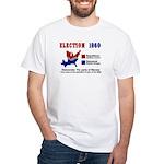 Election 1860: White T-Shirt