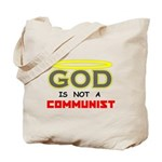 GOD is not a Communist Tote Bag