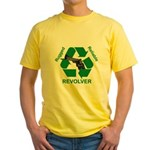 Rugged Reliable Revolver: Yellow T-Shirt