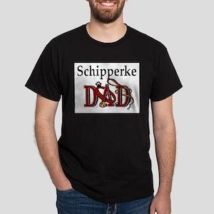 Schipperke Dad Ash Grey T-Shirt